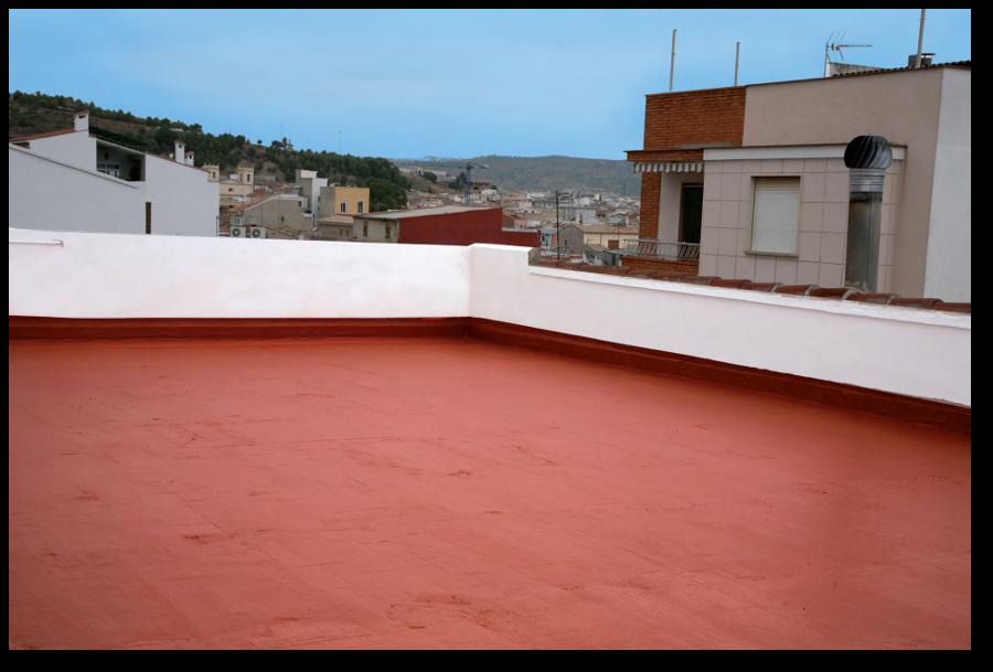 Impermeabilizar terrazas y tejados. Aplicación del impermeabilizante